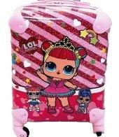Laguna Lol Bebek Baskılı Kız Çocuk Bavul Valiz