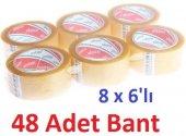 Ecotape Koli Bandi Seffaf 45mmx100mt (8 X 6lı 48 A...