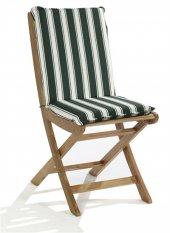 Sandalye Minderi Yüksek Arkalıklı Monoblok Fermuarlı Süngerli (