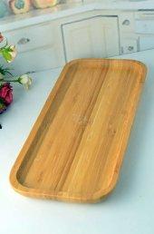 Bambu Servis Tepsi 36*15*2 Cm