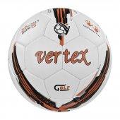 Vertex Golf Dikişli 5 No Futbol Topu Beyaz Turuncu