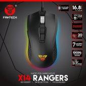 Fantech X14rangers Rgb Makrolu Programlı Gaming Oyuncu Mouse