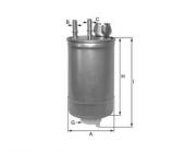 Yakıt Filtresi Fıat Doblo Fıorıno 1.3 1.9 Jtd