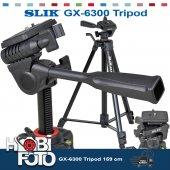 Nikon D7100 İçin Profesyonel Slık Gx 6300 Tripod 159 Cm