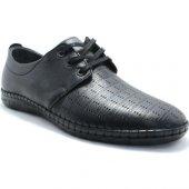 Adnan Bozkaya 07 Siyah Renda Bağcıklı Ayakkabı