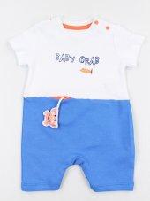 Erkek Bebek Şortlu Tulum