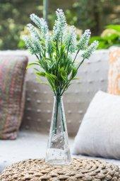 2li Beyaz Nemesia (Ömürsüz) Yapay Çiçek