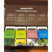 Yaşam Kürü 4lü Çay Seti Doğal Detoks Çayı