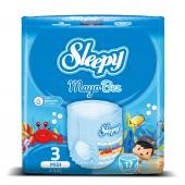 Sleepy Mayo Külot Bez 3 Beden Midi 17 Adet (4 9 Kg...