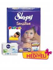 Sleepy Sensitive Bebek Bezi 0 Prematüre Ped Hediyeli 40 Adet