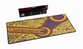 Gaming Mouseped Oyuncu Mouse Pad 70*30 3mm Setam Sarı Logolar