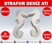 Strafor Sepeti Strafor Deniz Atı 60 Cm Boyasız (2 Adet), Strafor Dekor, Strafor Parti, Strafor Doğum Günü