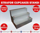 Strafor Sepeti Strafor Cupcakes Standı 15 Cm X 15 Cm X 15 Cm, Strafor Dekor, Strafor Parti, Strafor Doğum Günü