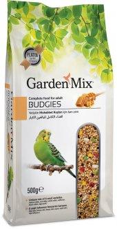 Garden Mix Super Premium Ballı Muhabbet Kuşu Yemi 500 Gr (5 Adet