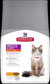 Hills Sensitive Stomach Skin Deri Hassasiyeti Tavuklu Kedi Maması