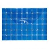 Bigpoint Çıtçıtlı Dosya Desenli A4 Mavi