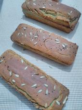 Helaliye Glutensiz Karabuğday Ekmeği 100 Greçka Sütlü Ekşi Mayalı Ayçiçekli Çörekotlu Hindistan Cevizli Ekmek 2000 G
