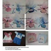 50 Adet Karışık Biblo Renkli Taş Bebek Şekeri Mıknatıslı Nazar Bo