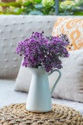 Pembe Yonca Yapay Çiçek