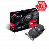 Asus Radeon Arez-ph-rx550-2g 2gb 128bit Gddr5 Dp Hdmı Dvı 1071mhz
