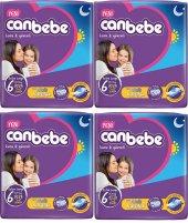 Canbebe Extra Large 6 Numara 24*4 96 Adet Bebek Bezi 15+ Kg