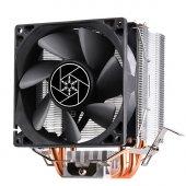 Silverstone Kr02 9.2cm Fan, Intel Ve Amd Uyumlu İşlemci Soğutucu (Sst Kr02)