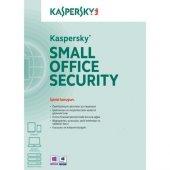 Kaspersky Small Office Sec. 1+5 Dvd Kutu 3 Yıl