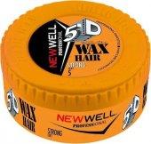 New Well Strong Turuncu Sert 150 Ml Wax