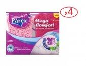 Parex Mega Comfort Oluklu Düz Bulaşık Süngeri 2x4 8 Adet