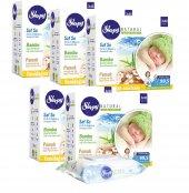 Sleepy Yenidoğan Bebek Islak Mendil Havlu Natural 15 Paket 40lı