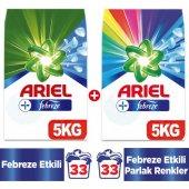 Ariel Matik Toz Çamaşır Deterjanı Beyaz Renkli Febrez Etki5+5 Kg