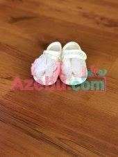 Azebu Pembe Kurdeleli Bebek Patiği