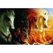 Anatolian Puzzle Mahşerin Dört Atlısı The Four Horses Of Apocaly