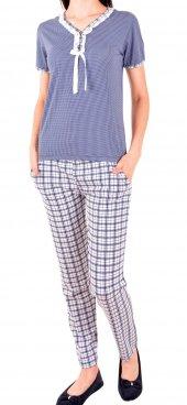 Kadın Pijama Takımı Uzun Kol