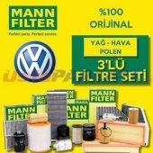 Vw Jetta 1.4 Tsı Mann Filter Filtre Bakım Seti (20...