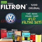 Vw Polo 1.4 Filtron Filtre Bakım Seti (2009 2014) ...