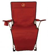 Famedall Lencos Ayak Uzatmalı Kamp Sandalyesi Kırm...