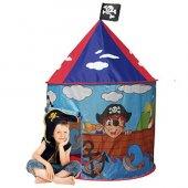 çocuk Oyun Çadırı Korsan Kalesi Oyun Evi 105 X 105 X 125 Cm