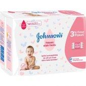 Johnsons Baby Islak Mendil Hassas 72li 12 Adet
