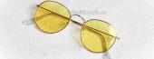 Trent Beyaz Çerçeve Sarı Gözlük
