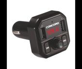 Concord C 609 3.1a Çift Usb Tf Bt Fm Transmitter
