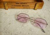 Mor Sekizgen Gözlük
