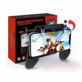 Pubg Gamepad Tetik Metal Ateş Tetiği Düğmesi Oyun Adaptörü Fortni