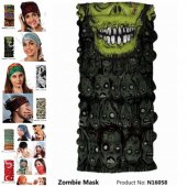 Narr Buff Bandana Zombie Mask Çok Fonksiyonlu