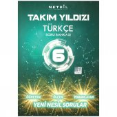 Netbil 6. Sınıf Türkçe Takım Yıldızı Soru Bankası 2020