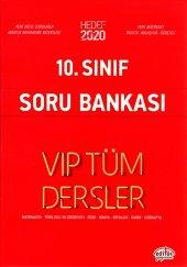 10.sınıf Vıp Tüm Dersler Soru Bankası Kırmızı Kitap