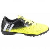 Jump 24289 Halı Saha Erkek Çocuk Futbol Ayakkabı Sarı Siyah