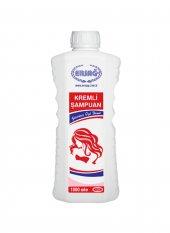 Ersağ Kremli Şampuan 1000 Ml. Bitkisel Kremli Şampuan 120