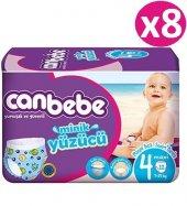 Canbebe Swimmers Mayo Bebek Bezi 4no Maxi 96 Adet (7 13kg) 12*8